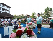 ผู้ว่าฯเป็นประธานนำประชาชนร่วมวิ่งแข่งขันสิริโรจน์ Run For Health Run for Charity Mini Marathon