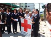 ทัพน้ำใจให้ความช่วยเหลือผู้ประสบภัยจากเหตุการณ์เพลิงไหม้